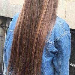 Cheveux avant coupe du 8/11