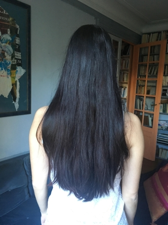 Cheveux bruns foncés-auburn 15-20cm (1)
