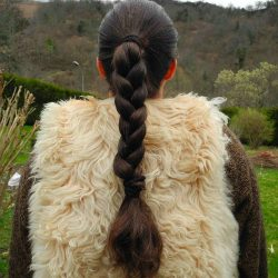 Tresse chatain