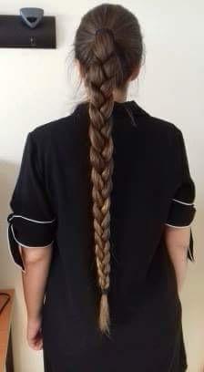 Cheveux tressés