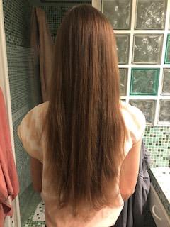 Cheveux châtains