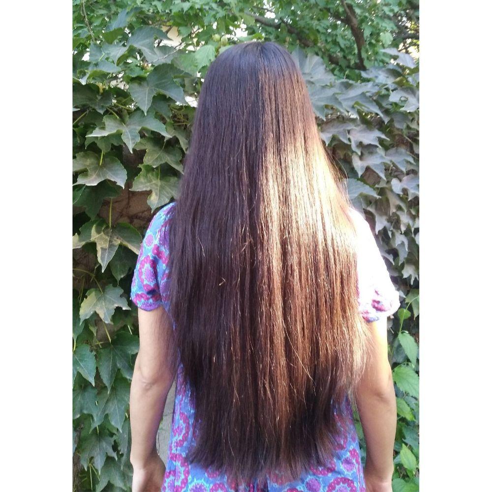 Cheveux BRUNS, 40 cm
