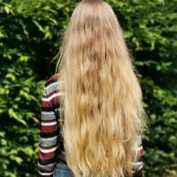 cheveux de dos