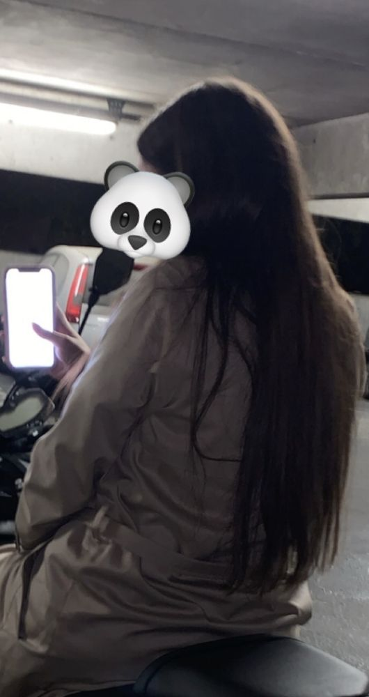 Cheveux lissés